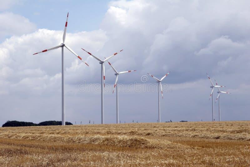 Energia de vento 01 fotos de stock