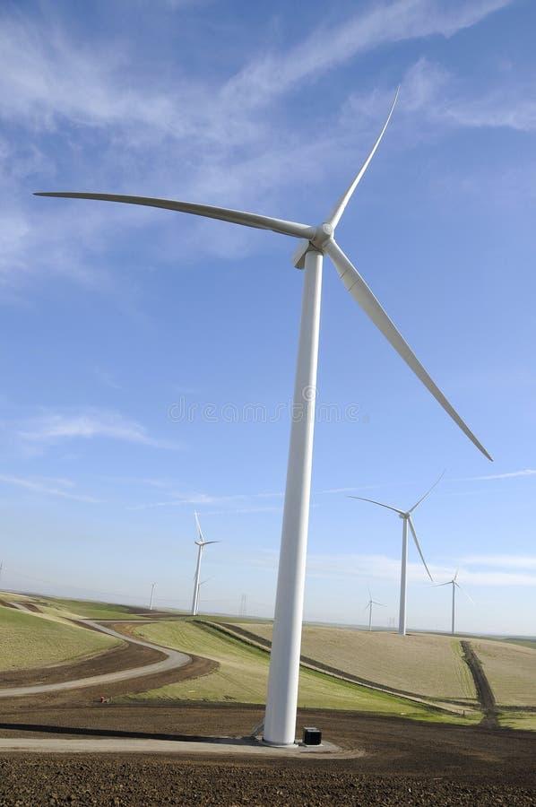 Energia de vento 2 imagens de stock royalty free