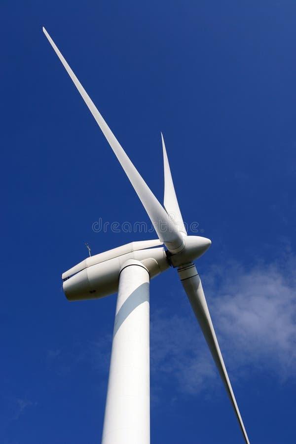 Energia della turbina di vento fotografia stock libera da diritti