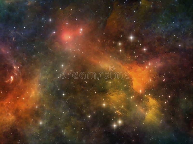Energia dello spazio immagine stock