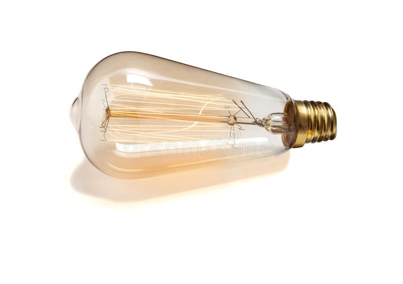 Energia di bloccaggio della lampadina immagine stock