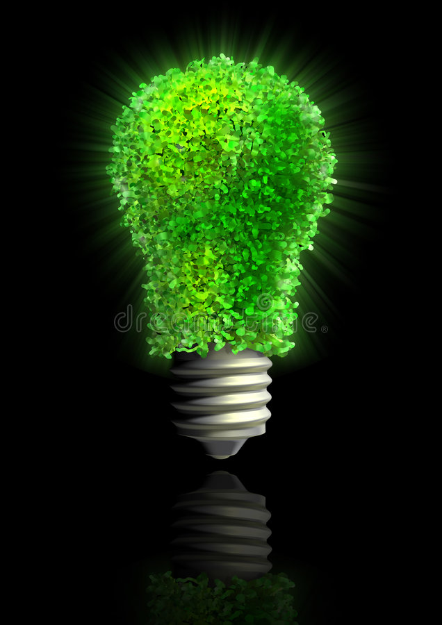 ENERGIA DI ECO illustrazione vettoriale