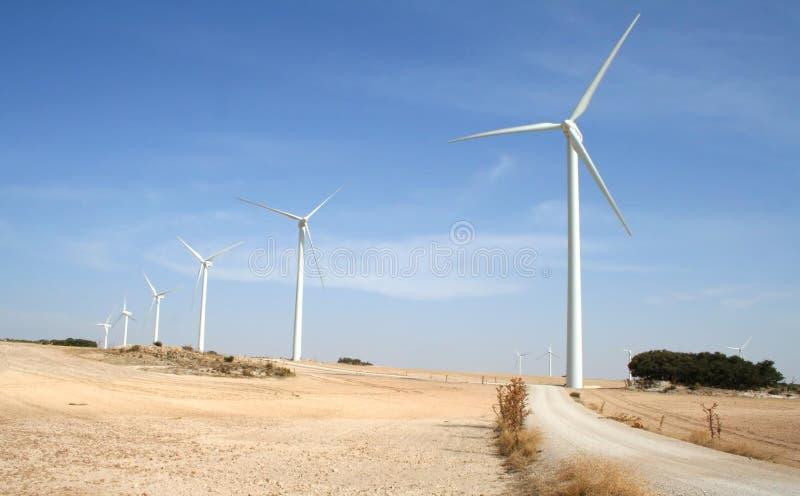 Energia di vento alternativa immagini stock libere da diritti