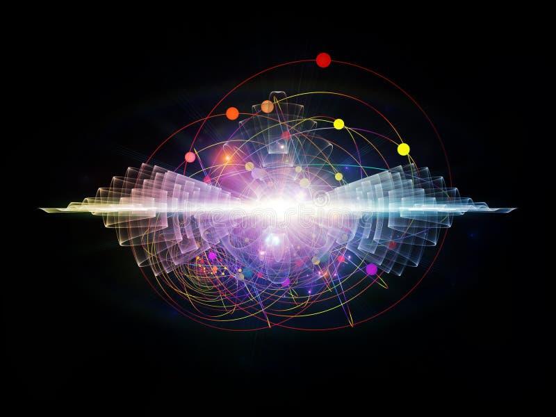 Energia do átomo ilustração royalty free