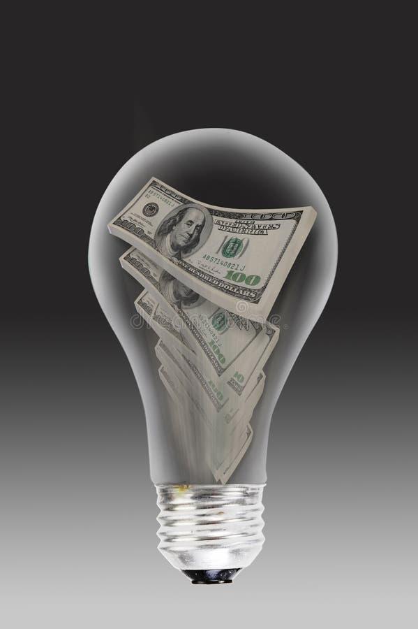 Energia e dinheiro ilustração do vetor