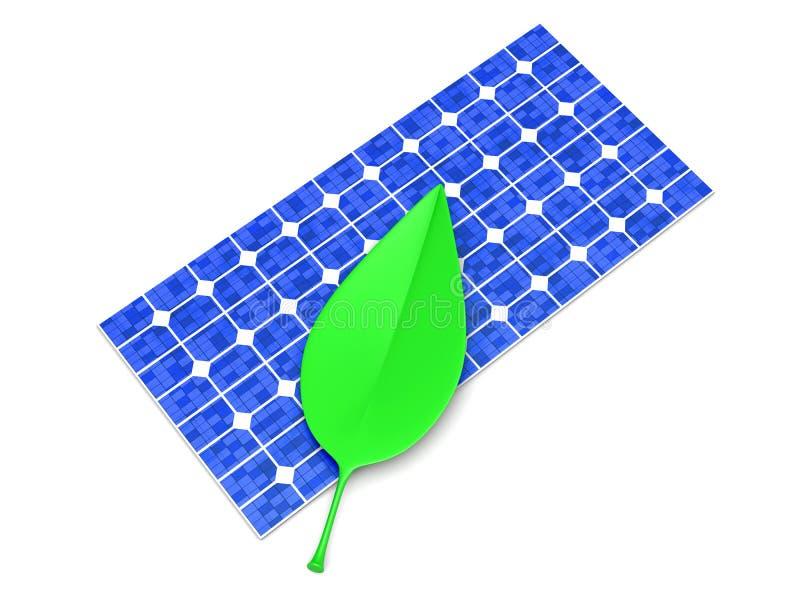 Energia ecológica ilustração stock