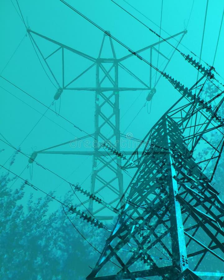 Energia eléctrica imagens de stock royalty free