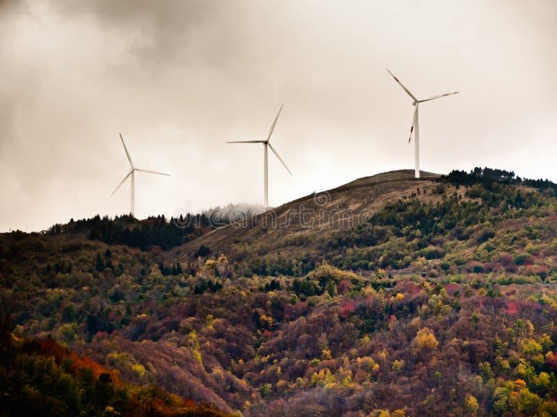 energia eolic zdjęcie royalty free