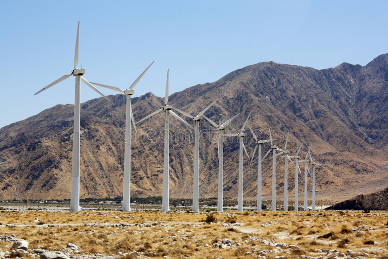 energia eolic obrazy stock