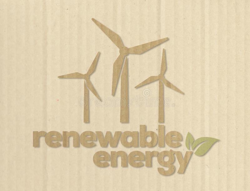 energia eolic obrazy royalty free