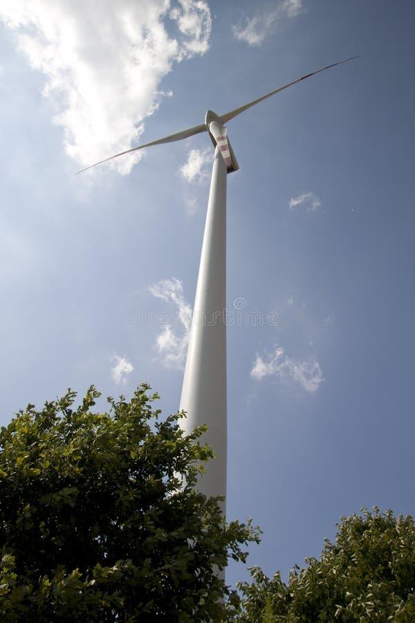 Energia eolico fotografie stock