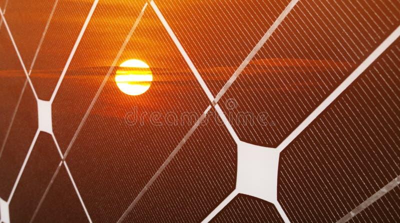 Energia fotovoltaica fotografie stock