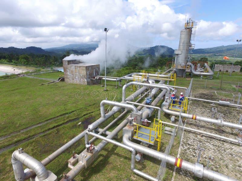 Energia Geothermal fotos de stock royalty free