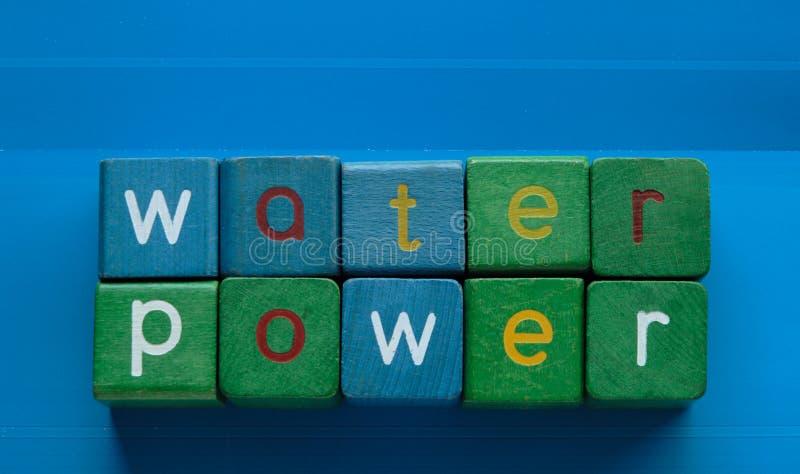 Energia idroelettrica immagini stock