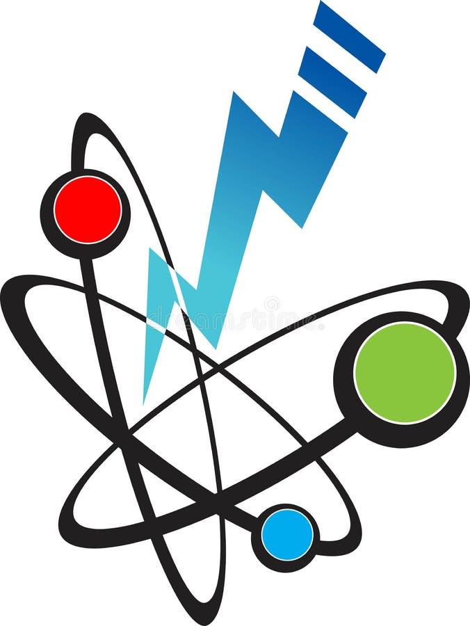 energia jądrowa royalty ilustracja