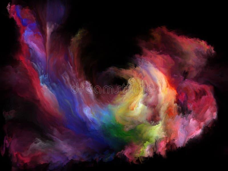 Energia koloru ruch ilustracji