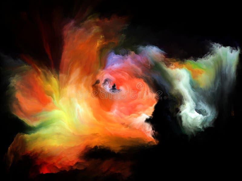Energia koloru ruch ilustracja wektor