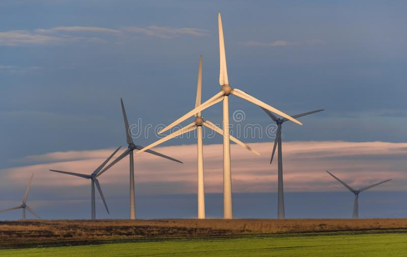 Energia limpa e renov?vel fotos de stock royalty free