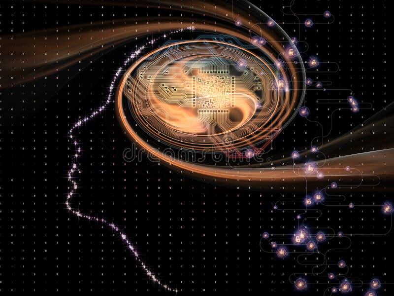 Energia Maszynowa świadomość ilustracji