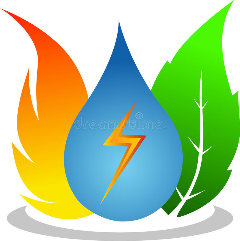 Energia naturale royalty illustrazione gratis
