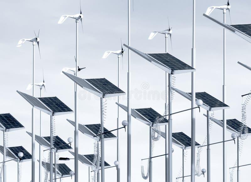 Energia naturale fotografie stock