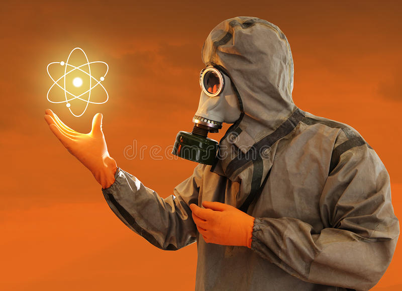 Energia nuclear imagem de stock