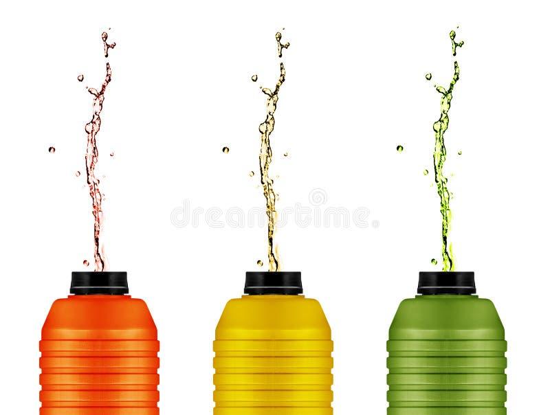 Energia pije puszki obrazy stock