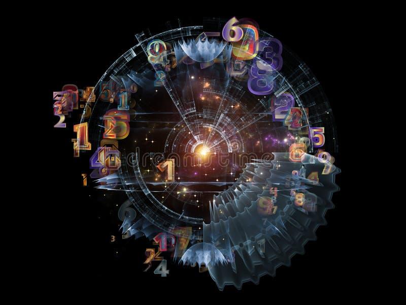 Energia projekta element royalty ilustracja
