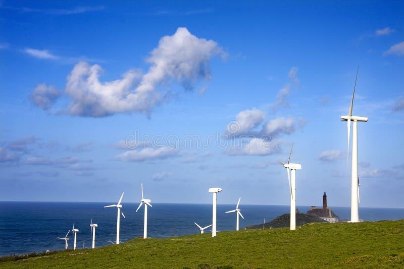 Energia renovável foto de stock