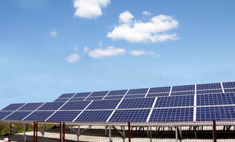 Energia Słoneczna panel zdjęcia royalty free
