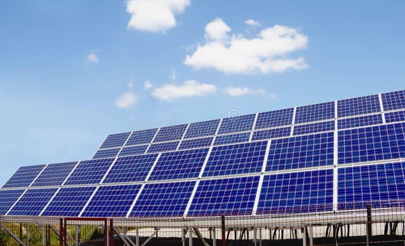 Energia Słoneczna panel fotografia royalty free