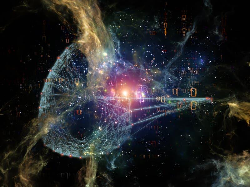 Energia sieć ilustracji