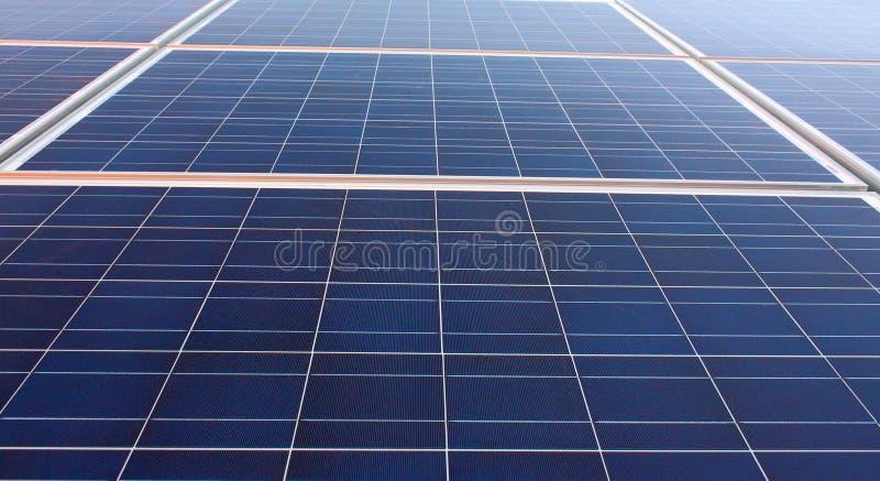 Energia solar foto de stock