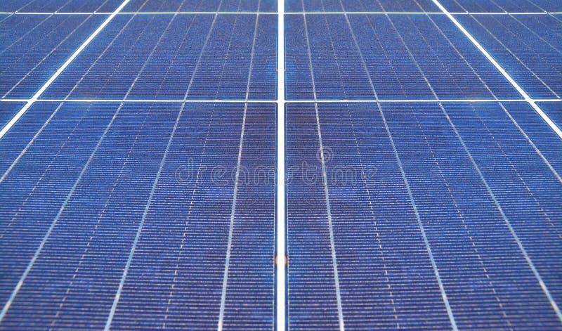 Energia solar, painel fotovoltaico foto de stock