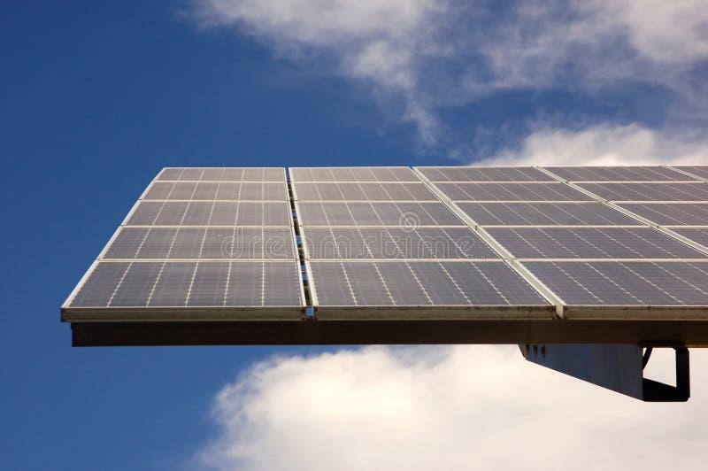 Energia solare fotografie stock