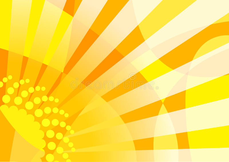 Energia solare illustrazione di stock