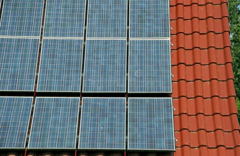 Energia solare rigeneratrice fotografia stock