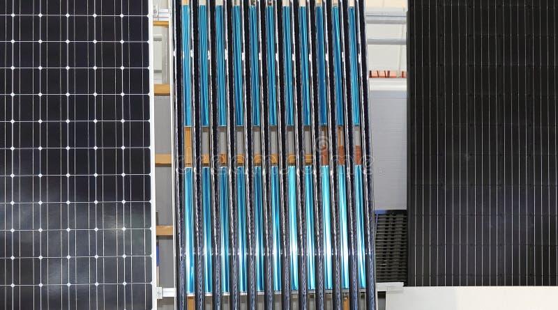 Energia solare rinnovabile fotografie stock libere da diritti