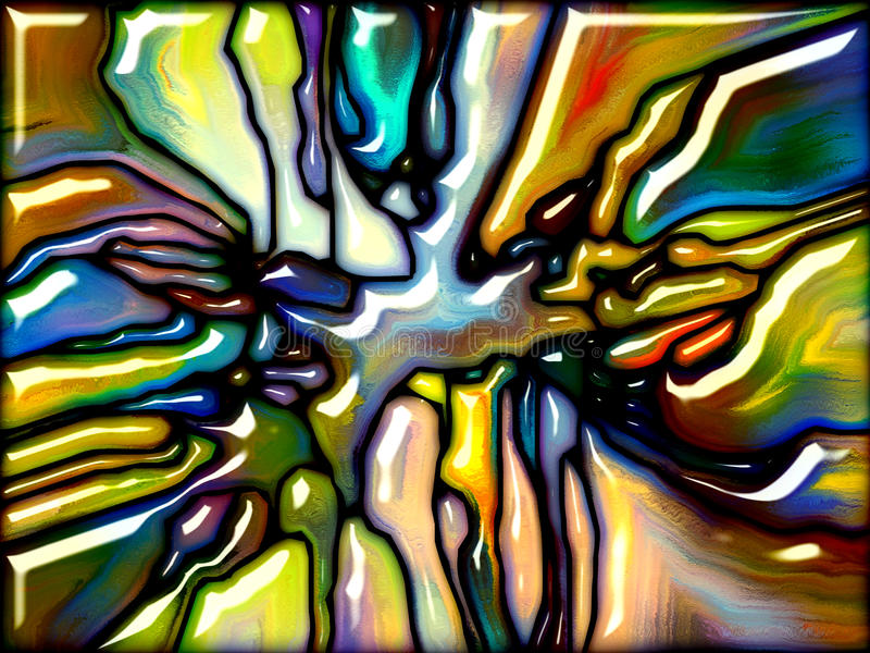Energia szkło ilustracji