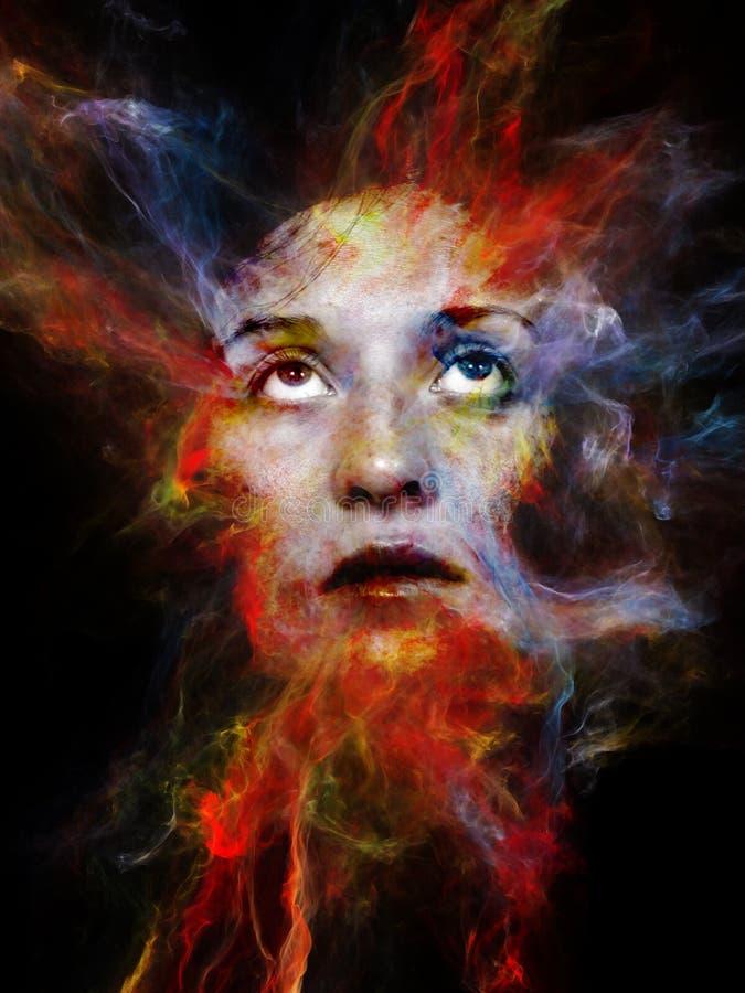 Energia Twój cień ilustracji