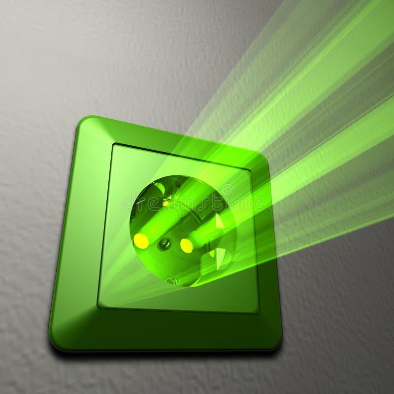Energia verde ilustração do vetor