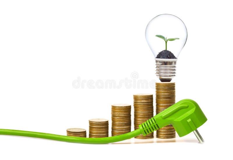 Download Energia verde imagem de stock. Imagem de pilha, ethics - 80101959