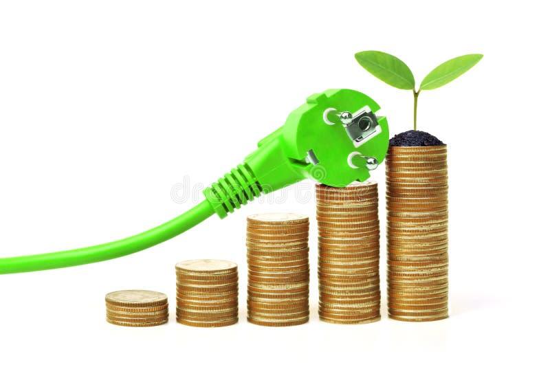 Download Energia verde imagem de stock. Imagem de ethics, cabo - 80101973
