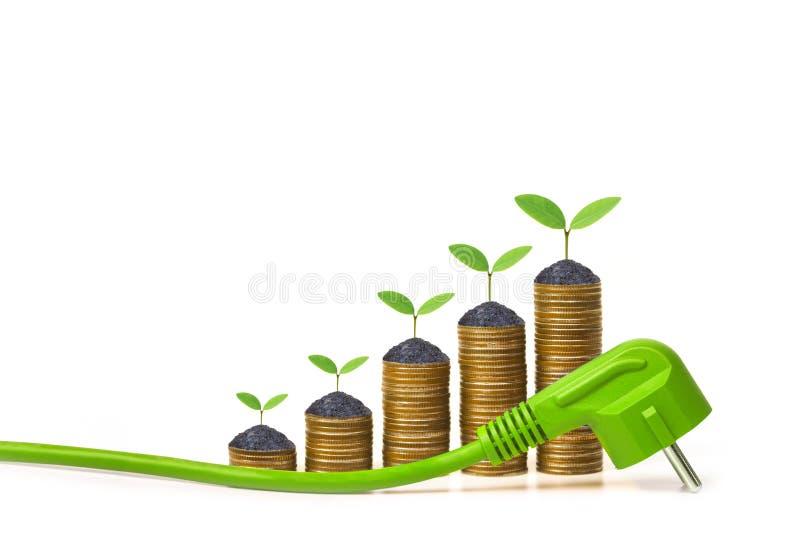 Download Energia verde foto de stock. Imagem de pilha, dispositivos - 80101996