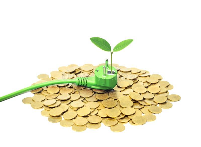 Download Energia verde imagem de stock. Imagem de moral, elétrico - 80102475