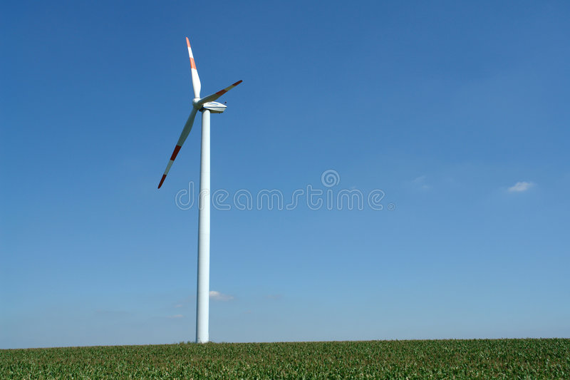 energia wiatru zdjęcie royalty free
