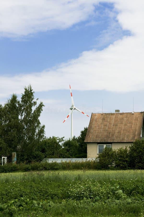 energia wiatru zdjęcia stock