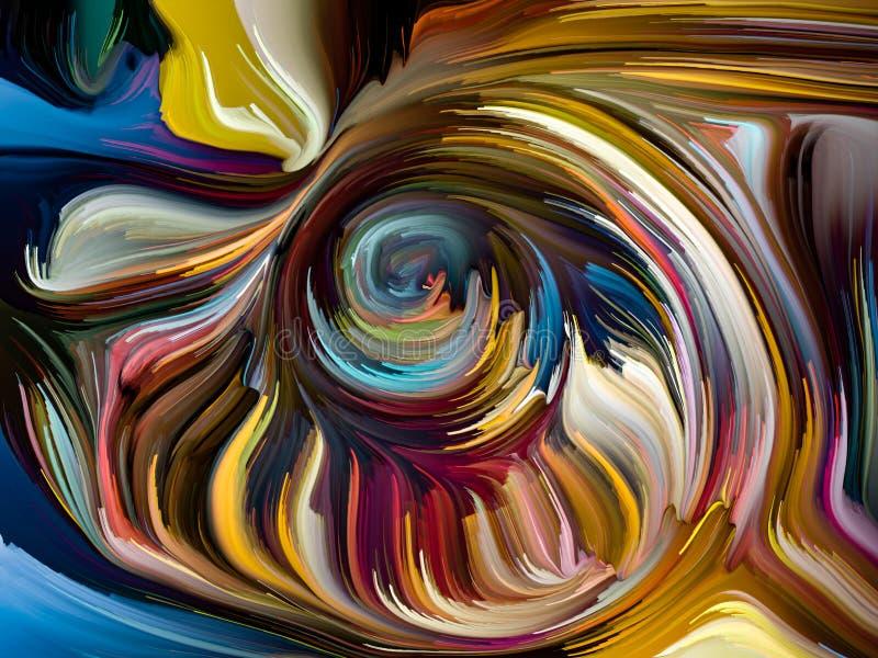 Energia Zrastający się kolory ilustracja wektor