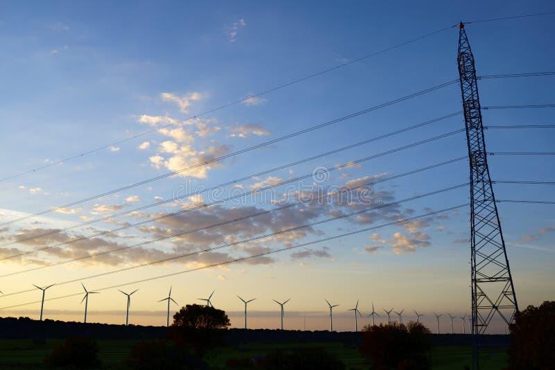 Energias Eólicas Imagem de Stock