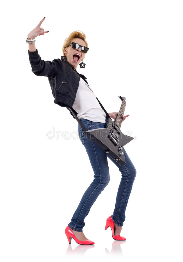 Energic Rockstar stockfotos